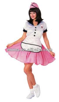 soda pop girl 50s costume halloween costume c157