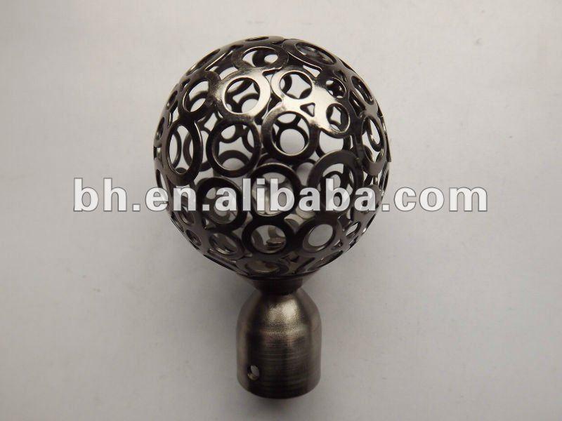 Barra de la cortina remate pelota metal ball remate - Remate de cortinas ...