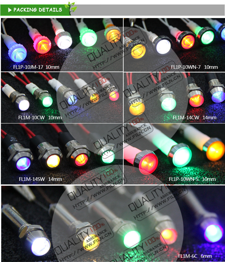 Lamp Hidden Camera 10mm 220v Double Color Led Lights Remote ...