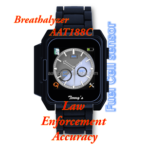 China manufacturer personal alcohol breath tester for sale smart feature Fuel Cell watch