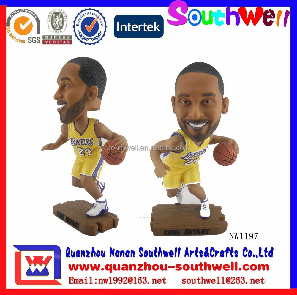 Kobe Bryant Resin Sport Bobble Head