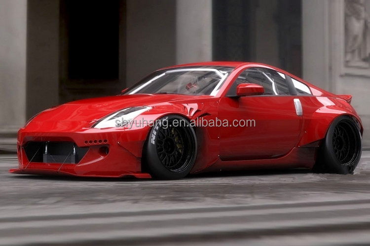 FRP Rocket Bunny Style Bodykit Fiber Glass For 2002-2005 350Z Z33 bumper fender spoiler ect