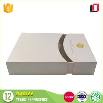 High End Custom Printing Luxury Wedding Invitations Card Gift Box