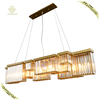 Contemporary Villa Hotel Creative Design Indoor Decorative Lighting Crystal Chandelier Project Light LED G9 Pendant Lamp