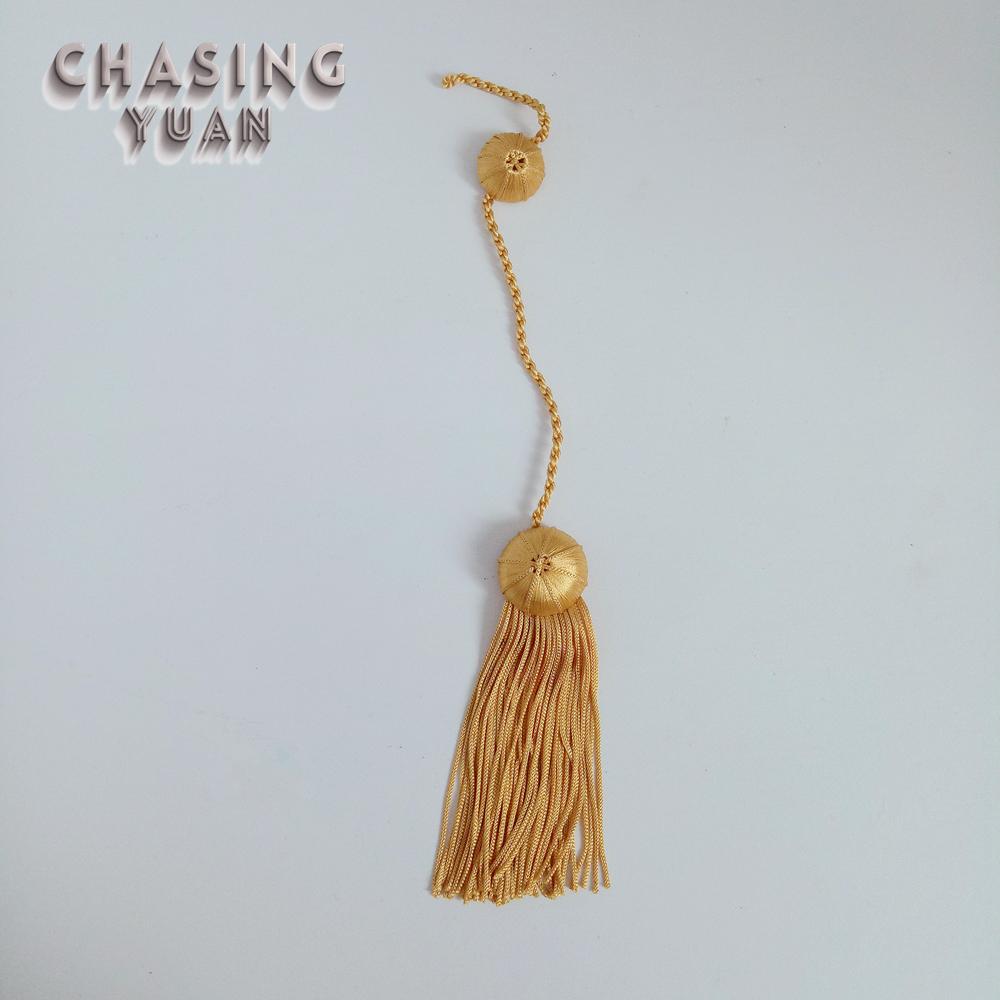 10p 38mm color gold caps faux leather velvet tassel for car keychain bag pendant