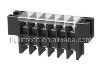 Screw type electrical strip cover 8.5mmDinkle 0168-12 barrier terminal block