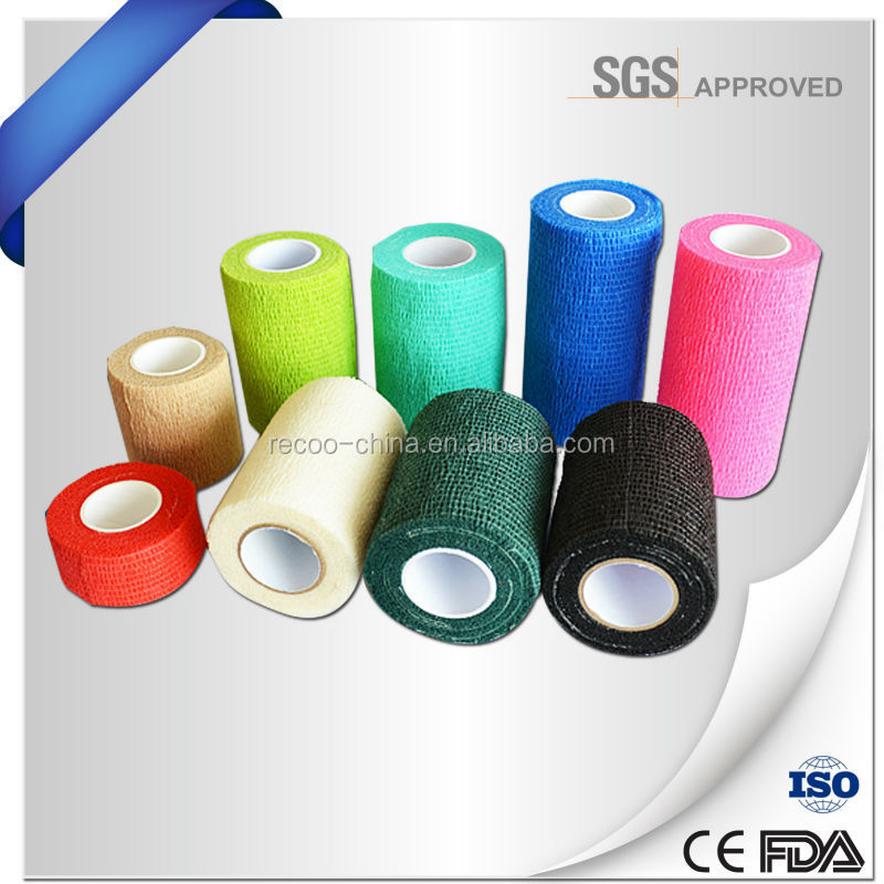 Surgical Supplier Sports Self-adhesive Bandage Breathable