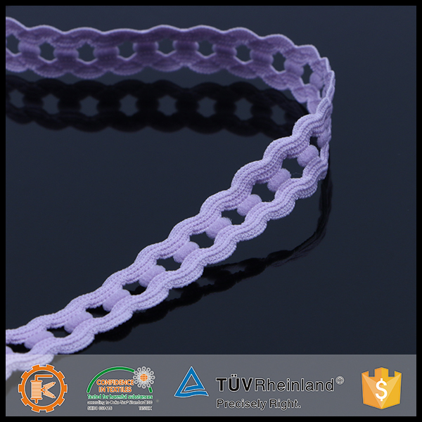 China factory high tenacity trend garment underwear crochet elastic band
