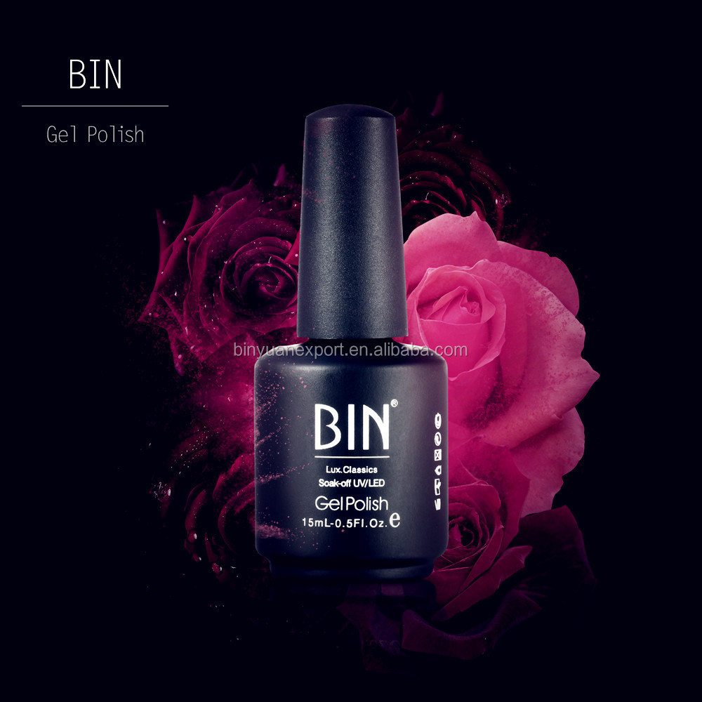 High Quality uv gel one step 216 colors BIN 15ml gel polish