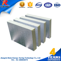 2017 Wholesale HVAC air duct panel cheap price double aluminum extruded polystyrene insulation board