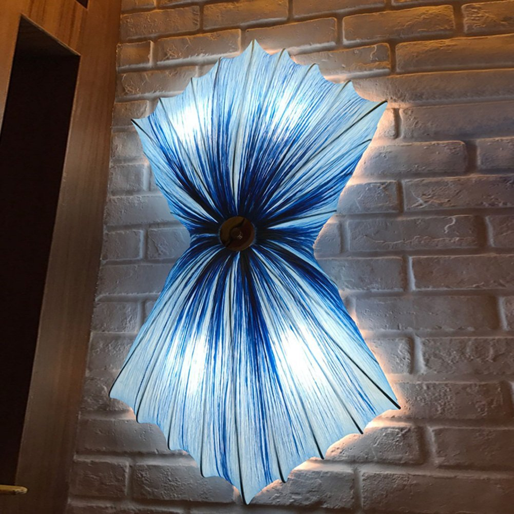 Modern wall lamp,Living room Wall lamp,[ceiling] Wall lighting Cloth Creative Bedroom Hotels Club Personality Lights [lamps]-A