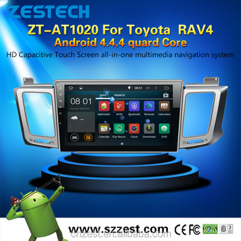 Android 4 4 4 Car Sat Navi Headunit For Toyota Rav4 Dashboard Placement  With Radio Car Gps Player Multimedia - Buy Car Sat Navi Headunit For Toyota