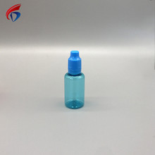 Custom design drop 15ml opaque plastic pet eye dropper Bottle with childproof cap