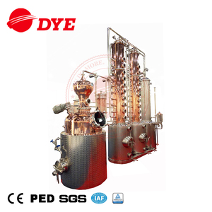 500L copper distillery equipment making equipment for whisky