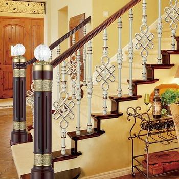 Aluminum Rod Porch Railings Balcony Industrial Handrail