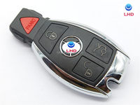 315Mhz 4 Button BGA Style Smart Remote Key Fob for Mercedes Benz
