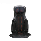 Electric low back and neck shiatsu air pressure massager cushion vibrating butt spine kneading full body car seat massage chair
