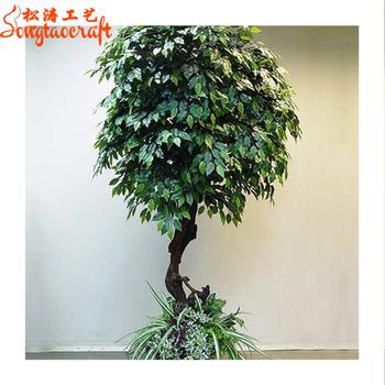 Bonsai Voor Binnen.Fabriek Directe Prijs Chinese Banyan Bonsai Groenblijvende Boom Kunstmatige Nep Duurzaam Mini Ficus Bomen Planten Model Voor Verkoop Binnen Buy