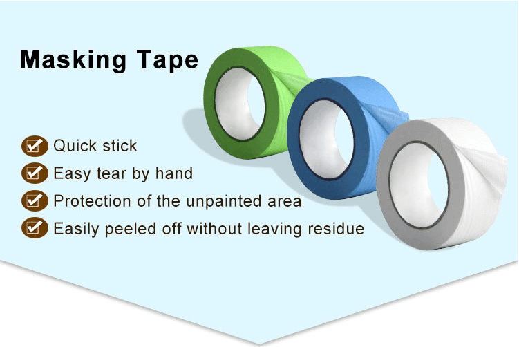 UV resist yellow color masking tape