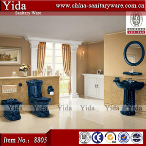 dark blue toilet, classic sanitary ware china supplier, luxury toilet
