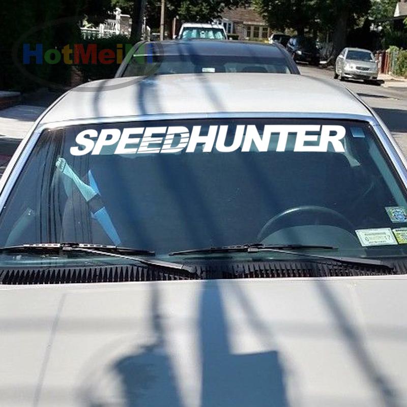 Speed Hunter Windshield Banner Vinyl Decal Japanese Visor