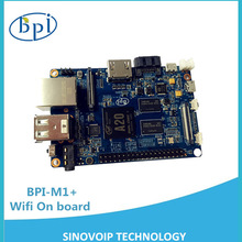 Factory price SBCs Banana Pi M1 plus BPI-M1+ with A20 chip runs with Android 4.4 smoothly better than Raspberry Pi 2