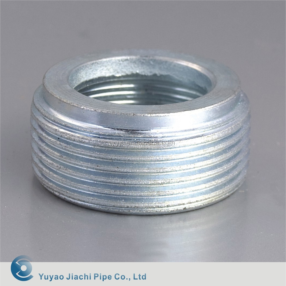 Carbon steel bushing stainless reducing