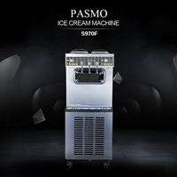 Pasmo double control low price high quality home use/commercial ice cream maker