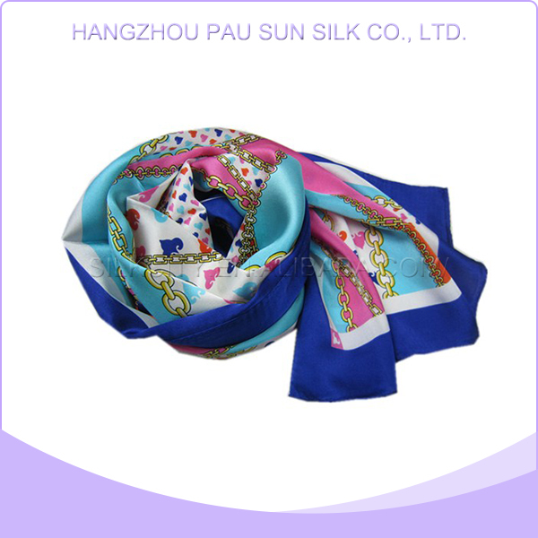 Hot sale good quality cheap 100%silk georgette scarf