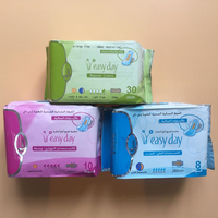 easy day cotton sanitary pad lady anion pads