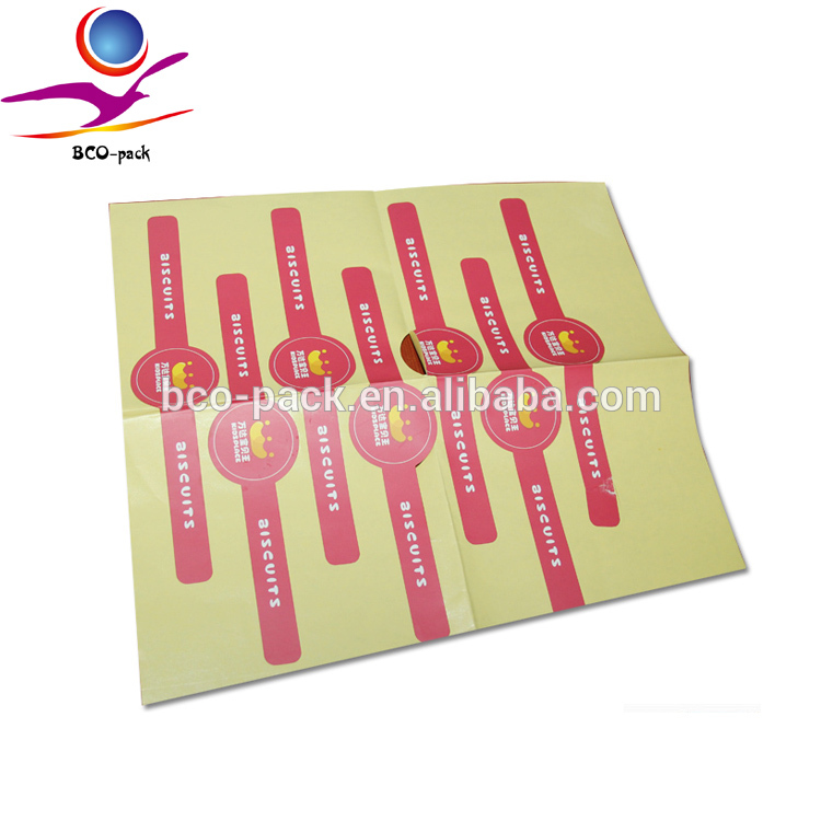 Best sellers private label sticker/sticker label