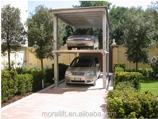 Residential Parking System Hydraulic Automated Underground