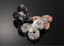 High Quality EDC No Noise 608 RS CKF Russia Bearing Metal zinc alloy Hand Fidget Spinner