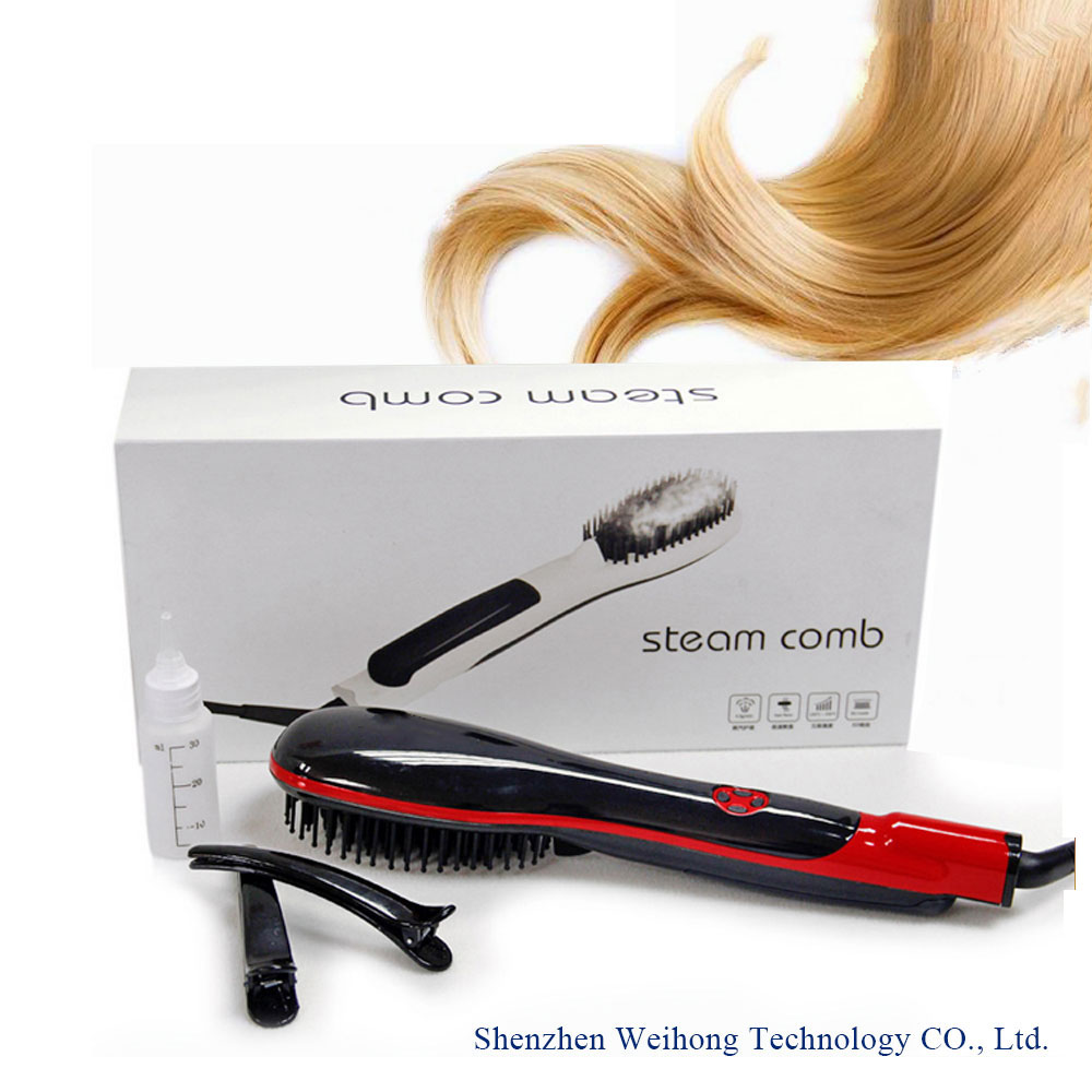 Professional Extremely Fast and Easy Hair Straightener - Get the Perfect Hairstyle in Minutes Straightning Brush