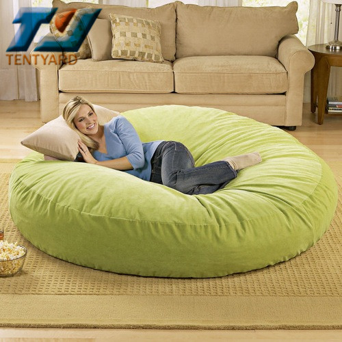 Lazy Boy Chair >> Last Sales Green Round Bean Bag Sofa Bed,Outdoor Round ...