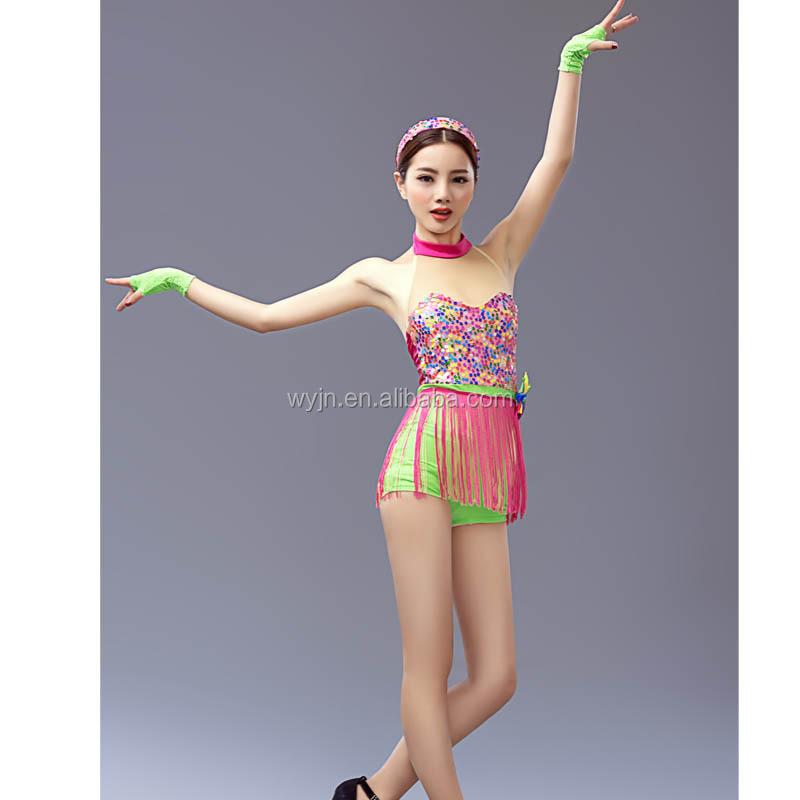 Disco dance style dresses