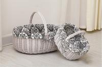 Wholesale Wicker Vintage Storage Basket for gift