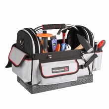 18 Inch durable cheap OEM canvas electrician sling tool bag
