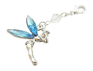 Brides Garter Charm - Something Blue Fairy Charm
