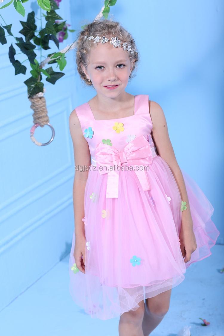 Vestidos De Fiesta Para 8 Años Niñas Último Vestido Diseños Para ...