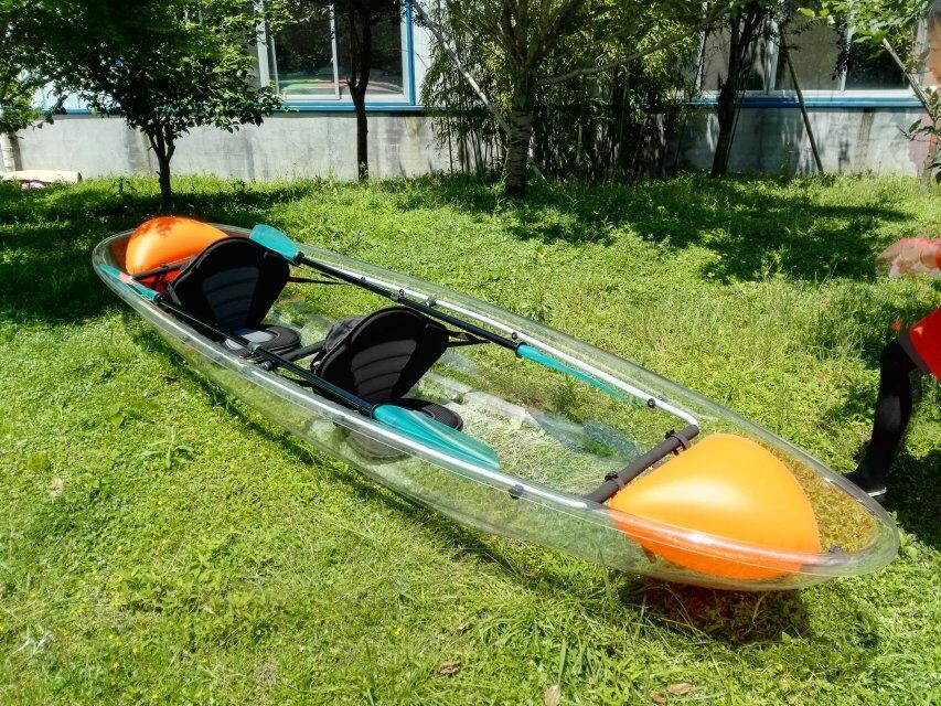 Change The Reality The Transparent Kayak Manufacturer Kudo Clear
