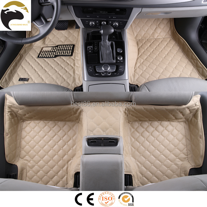 Luxury comfort car mats raw material