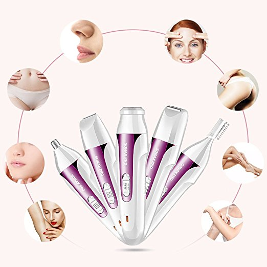 Physical Hair Removal New Women Electric Shaver Facial Shaver For Women Electric Lady Shaver Lady Epilator
