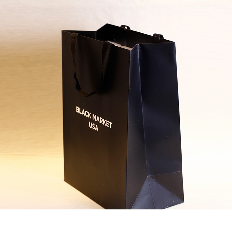 Private label eco friendly shopping bags with low MOQ