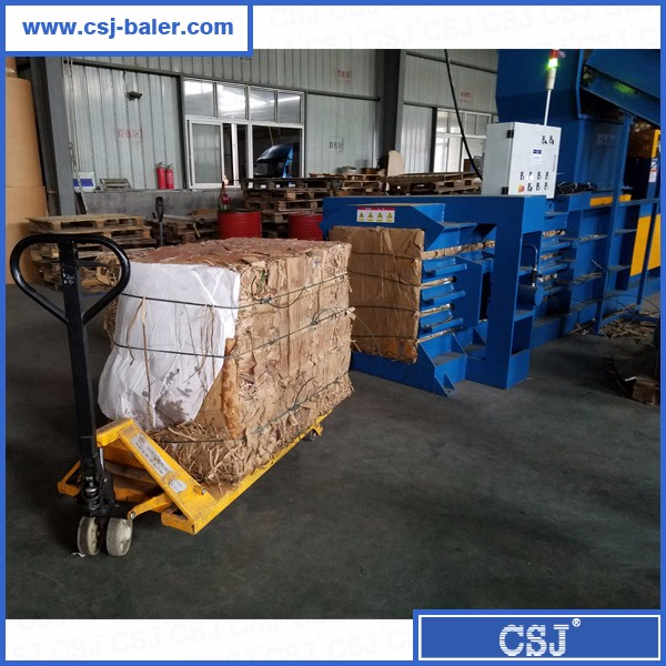 HSM quality waste paper horizontal baler for sale