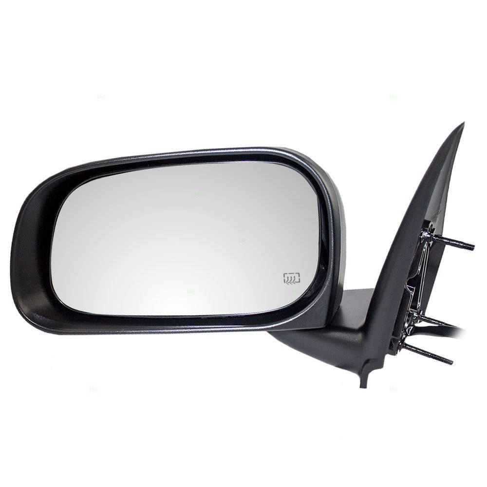 Drivers Power Side View Mirror Heated Memory Textured Replacement for Dodge SUV 55077503AM