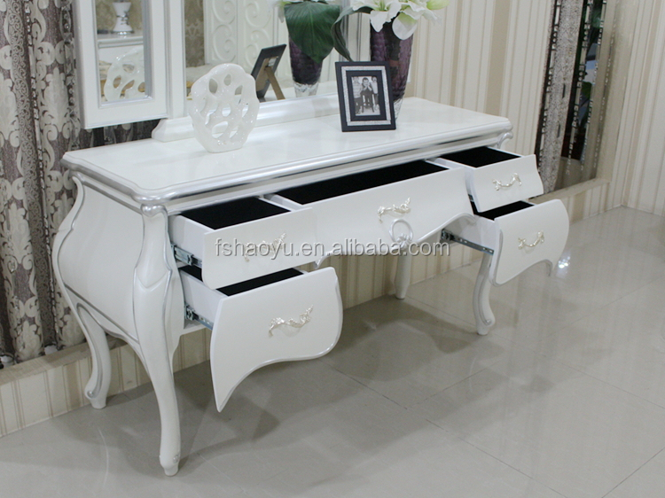 Make Up Tafel : ≥ wit lichthouten make up tafel met spiegel kasten