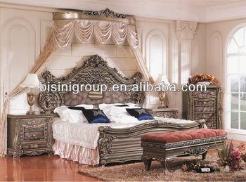Bisini Royal Vintage American Landhausstil Cal Kingsize Bett Bf11 0221b