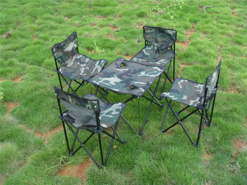 Groovy Wholesale Portable Camouflage Outdoor Camping Picnic Fishing Garden Desk Folding Foldable Table And Chair Set Binocular Sale Most Powerful Binoculars Evergreenethics Interior Chair Design Evergreenethicsorg