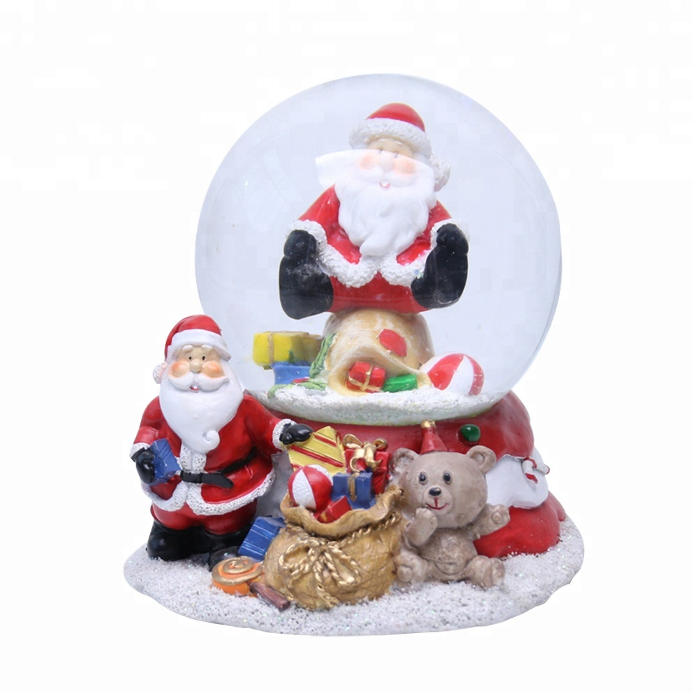Christmas Water Globe Custom Glass Snowball voor souvenirs
